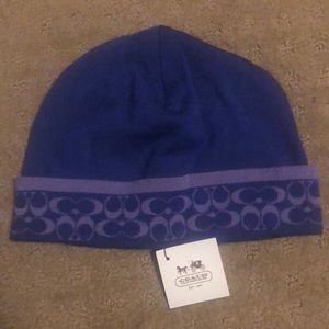 Coach Beanie, New With Tags!